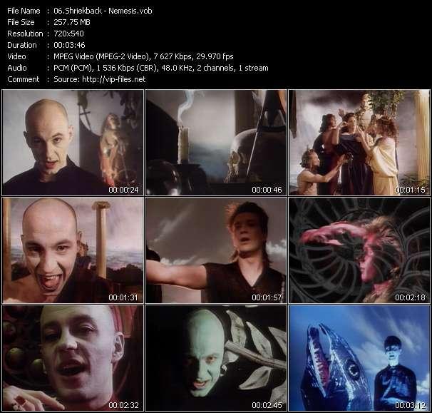 Screenshot of Music Video Shriekback - Nemesis