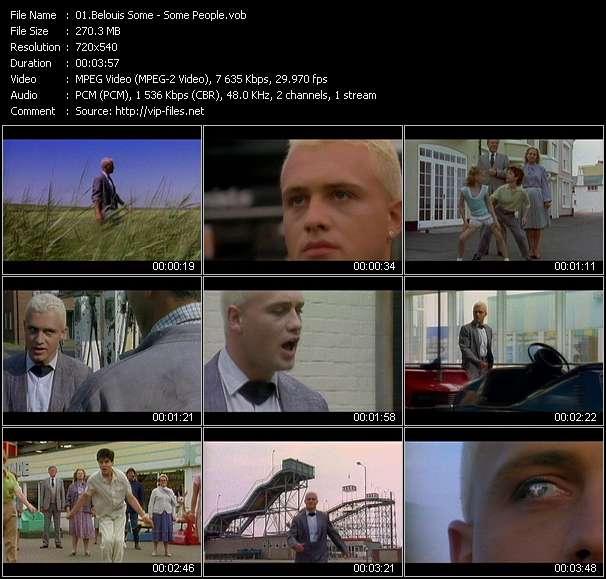 Screenshot of Music Video Belouis Some - Some People