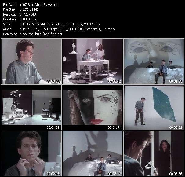 Screenshot of Music Video Blue Nile - Stay