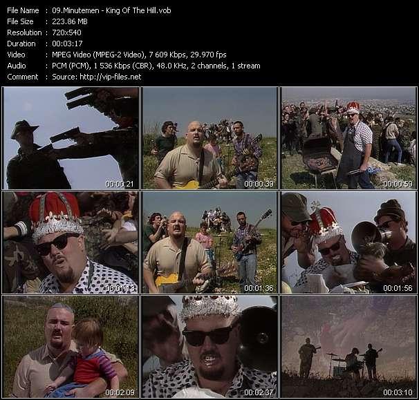 Screenshot of Music Video Minutemen - King Of The Hill
