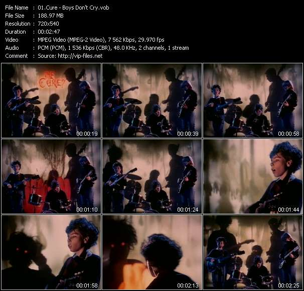 Cure video vob