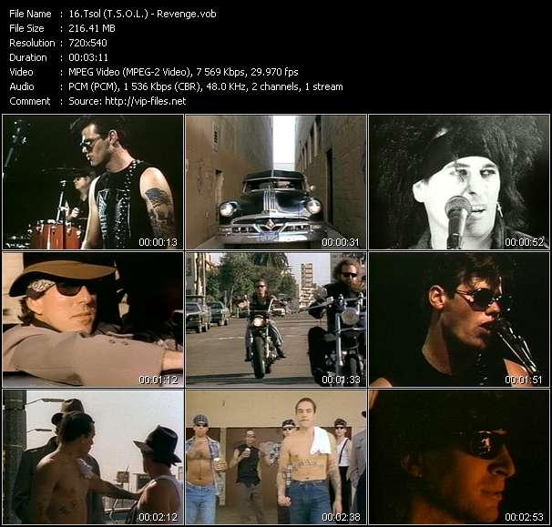 Tsol (T.S.O.L.) video vob