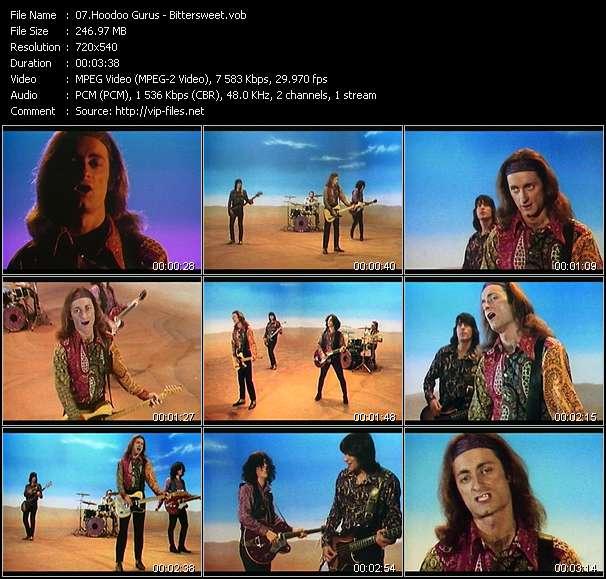Screenshot of Music Video Hoodoo Gurus - Bittersweet