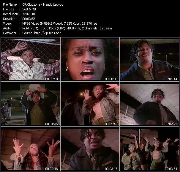 Screenshot of Music Video Clubzone - Hands Up