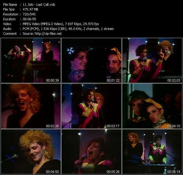 Screenshot of Music Video Jolo - Last Call
