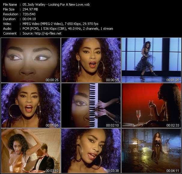Jody Watley video vob