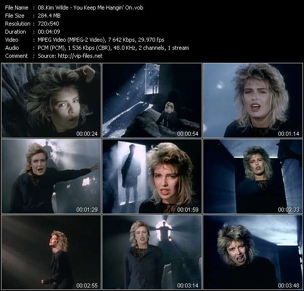 Kim Wilde video vob