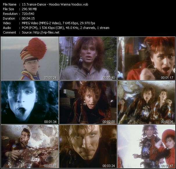 Screenshot of Music Video Trance-Dance - Hoodoo Wanna Voodoo