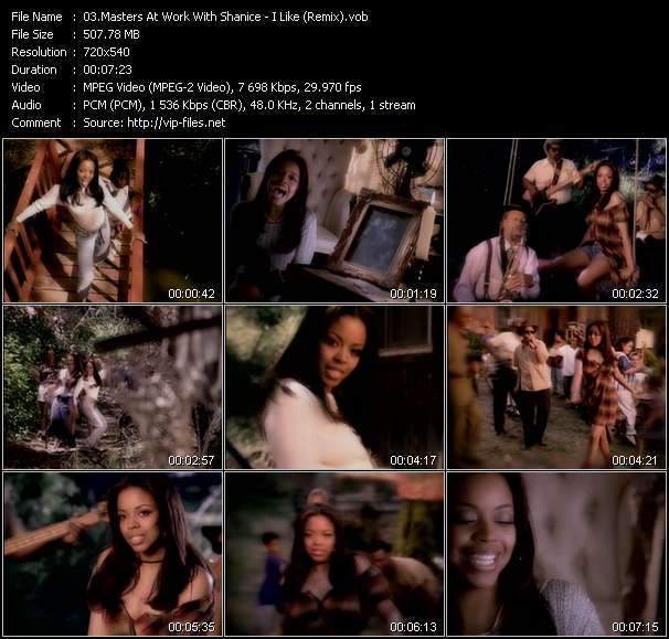 Screenshot of Music Video Masters At Work With Shanice - I Like (Remix)
