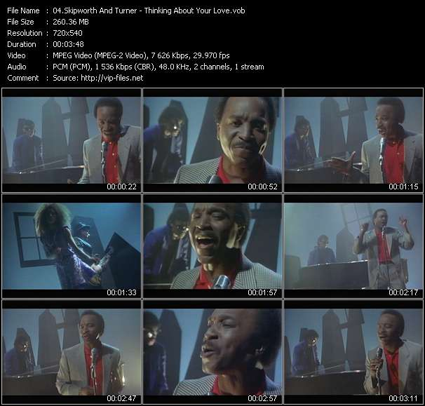 Screenshot of Music Video Skipworth And Turner - Thinking About Your Love