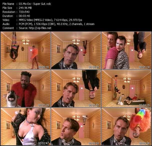 Screenshot of Music Video Mo-Do - Super Gut