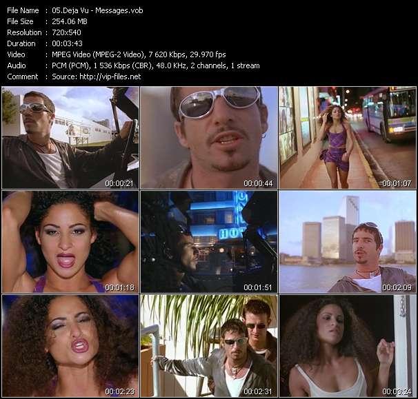 Screenshot of Music Video Deja Vu - Messages