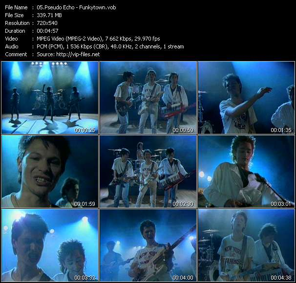 Pseudo Echo video vob