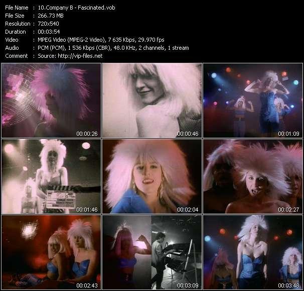 Company B clips musicaux vob