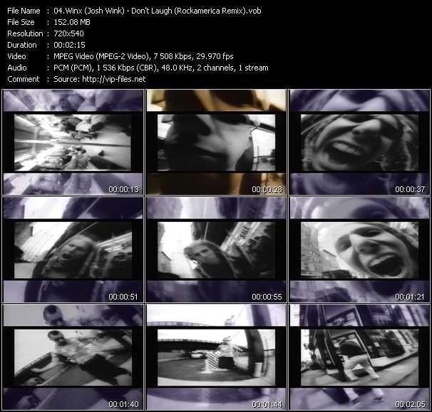 Winx (Josh Wink) video vob