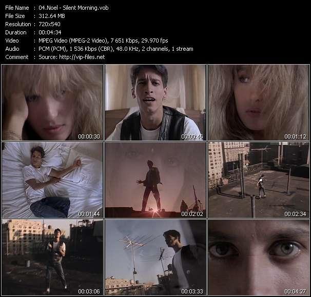 Screenshot of Music Video Noel - Silent Morning