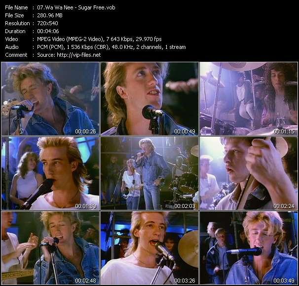 Screenshot of Music Video Wa Wa Nee - Sugar Free