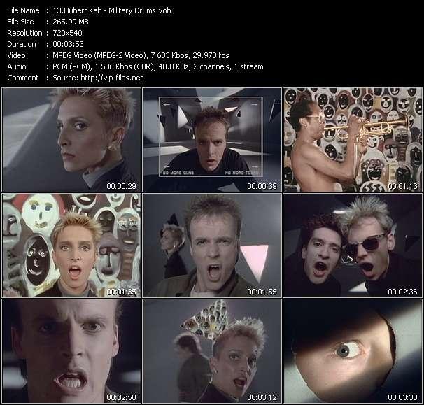 Screenshot of Music Video Hubert Kah - Military Drums
