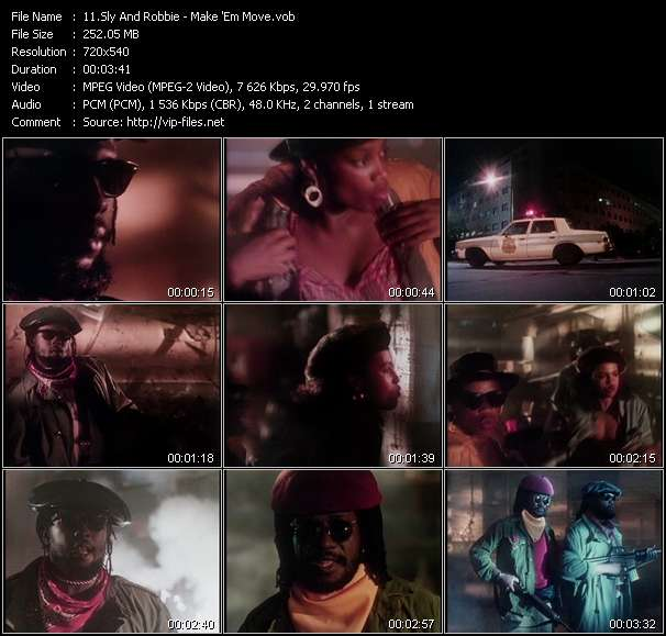 Sly And Robbie video vob