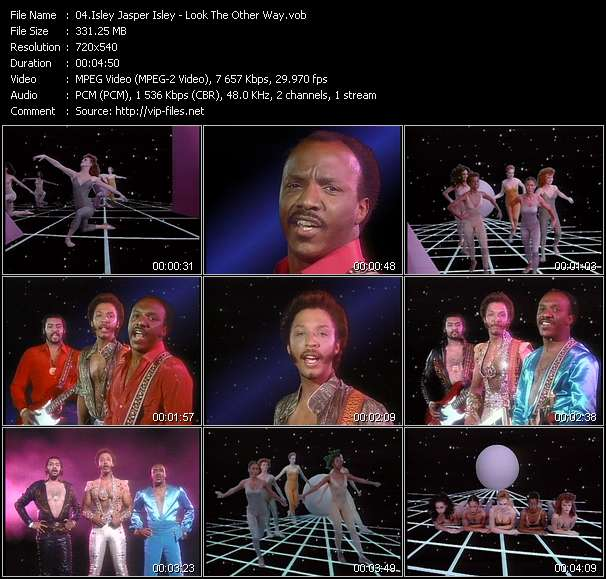 Screenshot of Music Video Isley Jasper Isley - Look The Other Way