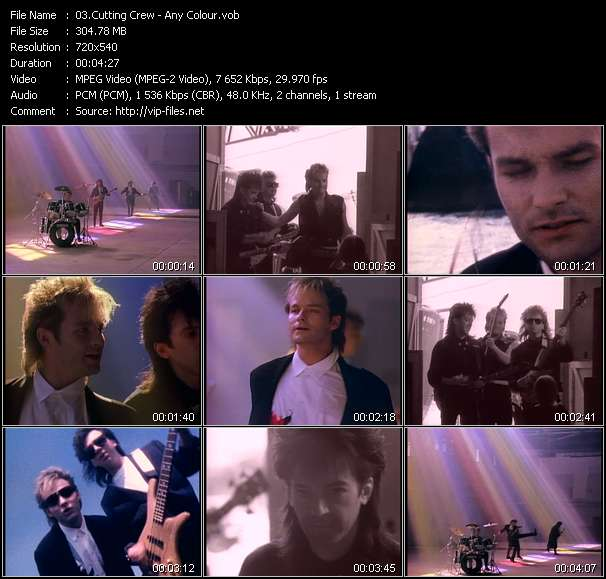 Screenshot of Music Video Cutting Crew - Any Colour