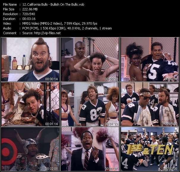 Screenshot of Music Video California Bulls - Bullish On The Bulls
