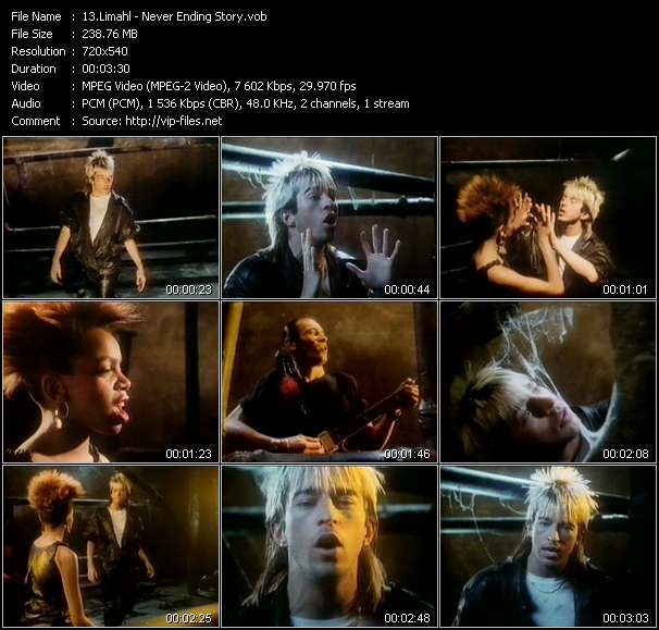 Limahl video vob