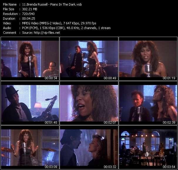 Brenda Russell clips musicaux vob