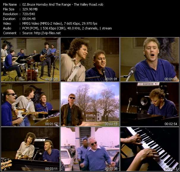 Bruce Hornsby And The Range clips musicaux vob