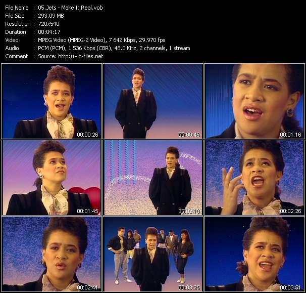 Screenshot of Music Video Jets - Make It Real