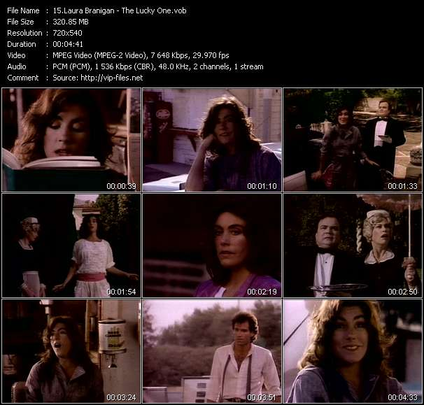 Laura Branigan video vob