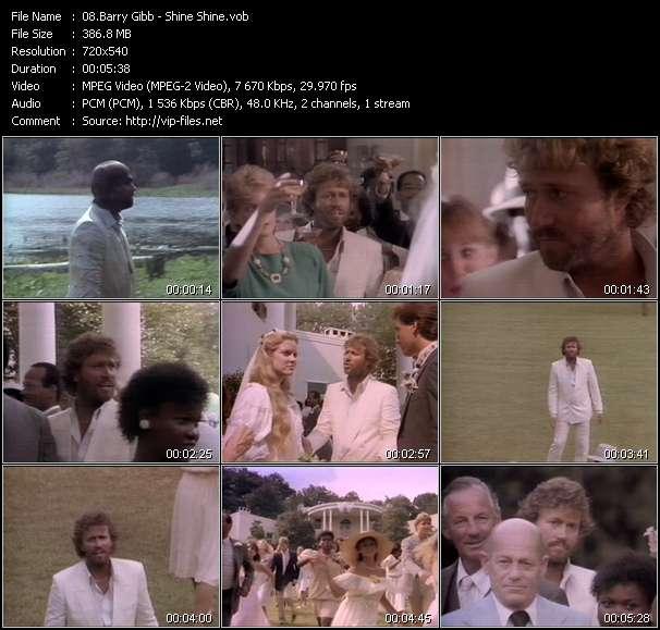 Barry Gibb video vob