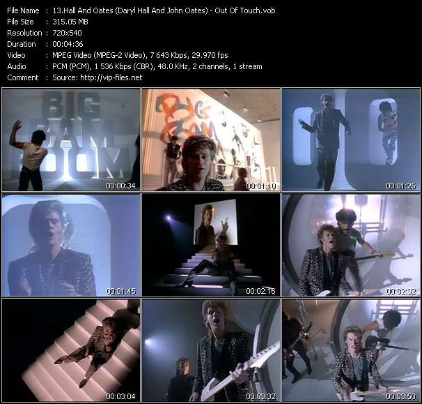 Hall And Oates (Daryl Hall And John Oates) video vob