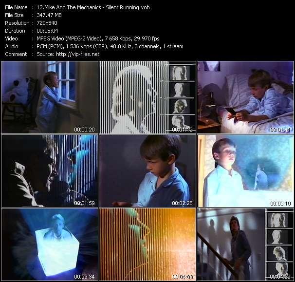 Screenshot of Music Video Mike And The Mechanics - Silent Running