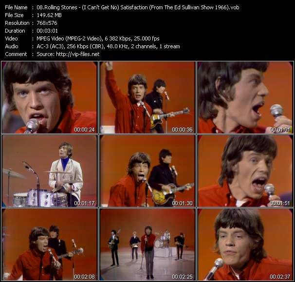 Rolling Stones video vob