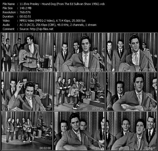 Elvis Presley video vob