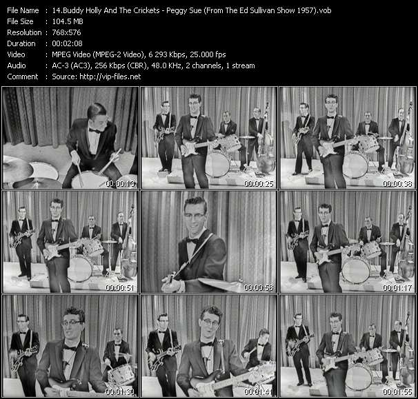 Buddy Holly And The Crickets video vob