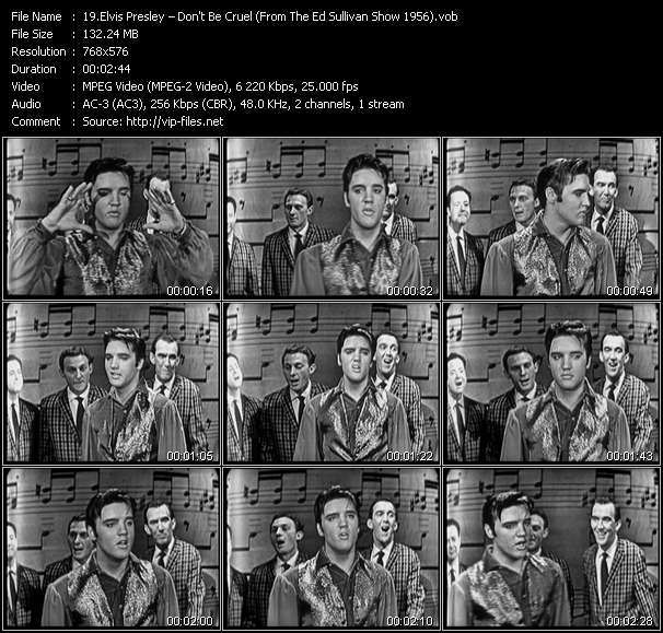 Elvis Presley video vob