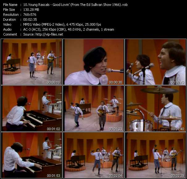 Young Rascals video vob