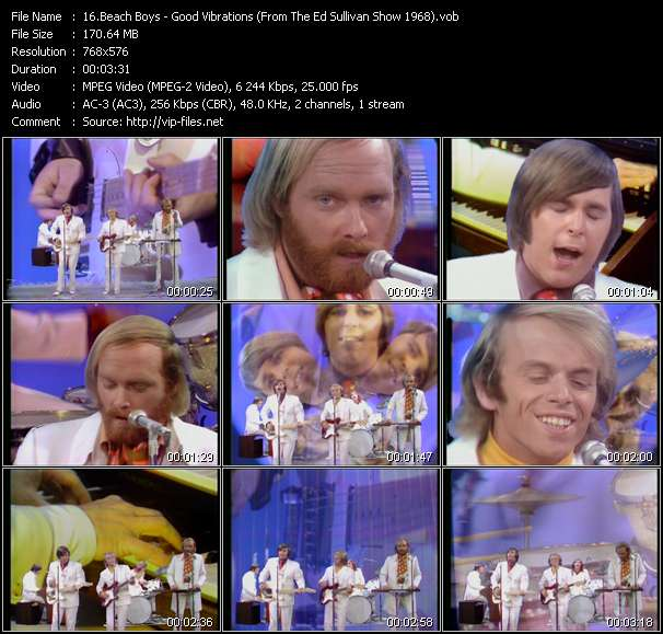Beach Boys video vob