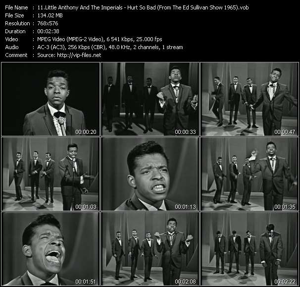 Little Anthony And The Imperials video vob