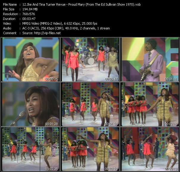 Ike And Tina Turner Revue video vob