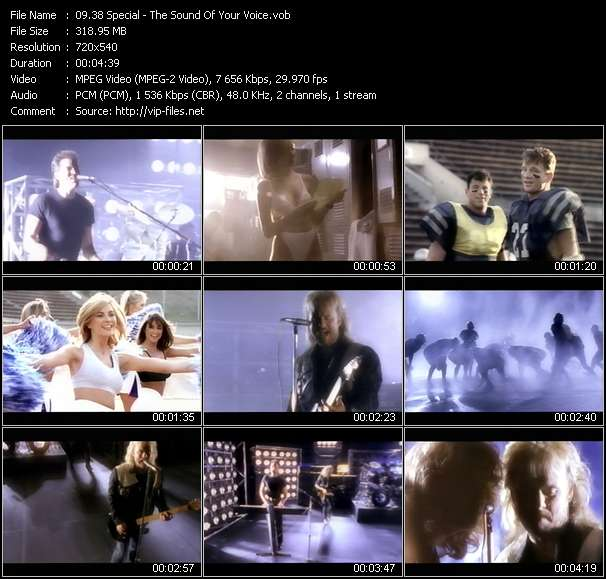 Screenshot of Music Video 38 Special - The Sound Of Your Voice