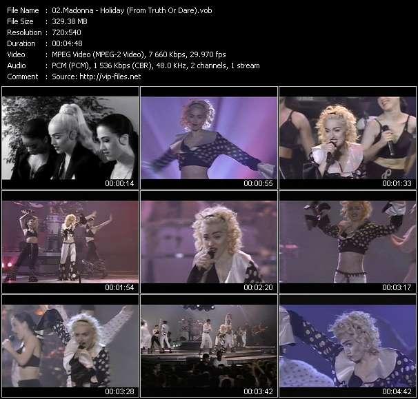 Madonna video vob