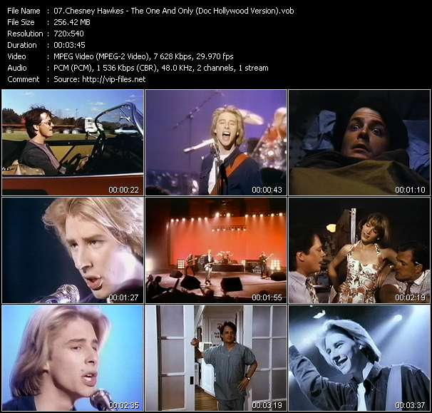 Chesney Hawkes video vob