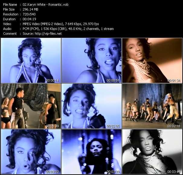 Karyn White clips musicaux vob