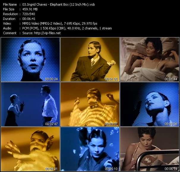 Ingrid Chavez clips musicaux vob