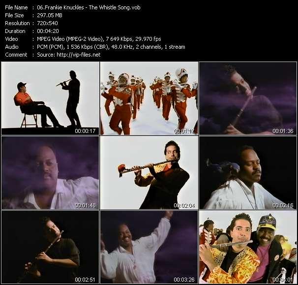 Frankie Knuckles clips musicaux vob