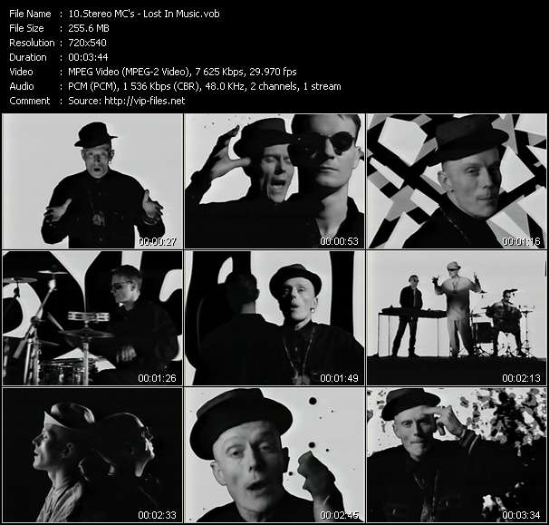 Stereo MC's clips musicaux vob