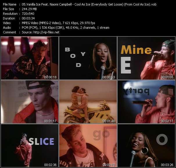Vanilla Ice Feat. Naomi Campbell video vob